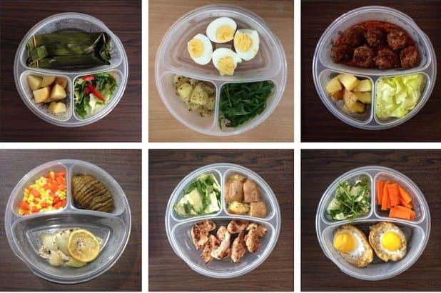 Thực đơn các món trong tuần theo chế độ ăn low carb