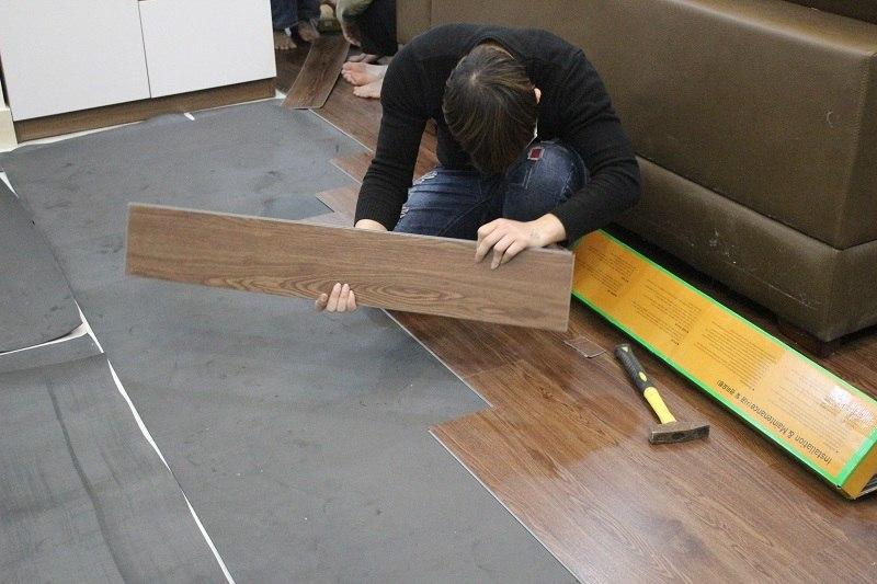 Sàn gỗ dán
